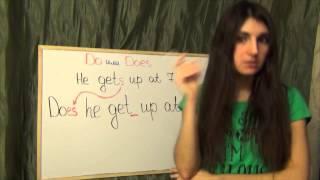 №15 ШИ  Урок DO или DOES  Present Simple  Английского языка  Полиглот Ирина Шипилова