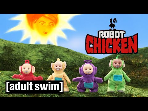 Robot Chicken | Teletubbies Revisited | Adult Swim UK 🇬🇧