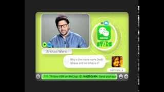 WeChat With The Stars featuring Arshad Warsi