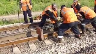 Сварка рельсовых стыков: технология (видео)