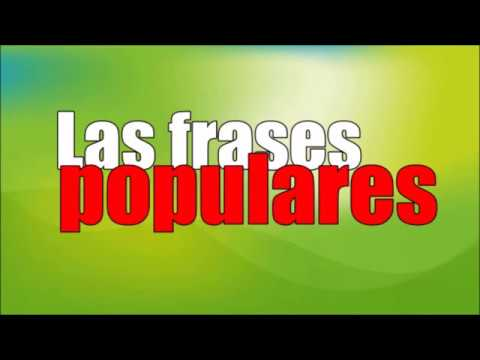 Frases Populares