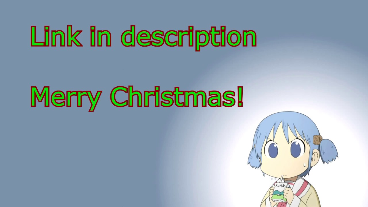 Nichijou Christmas Short - Dutch fandub (link in description ...