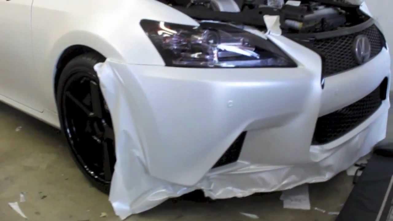 Matte White Car Wrap Cost