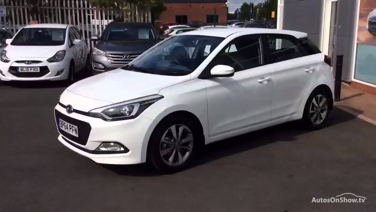 Hyundai I20 Gdi Se White 2015 Youtube