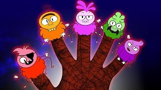 Halloween Songs | SCARY SPIDER FINGER FAMILY | Nursery Rhymes for Kids by Annie and Ben