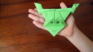 Оригами от Софийки (11 лет): как сделать прыгающую лягушку(Наш блог о семье - http://www.nashasemja.com/ Наш семейный блого о путешествиях - http://travel-family.org/ Об этом оригами читайте..., 2013-12-10T10:43:17.000Z)