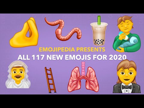 ? First Look: All 117 New Emojis for 2020