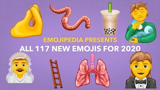 😍 First Look: All 117 New Emojis for 2020