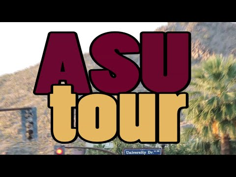ASU Tempe Campus and Dorm Tour