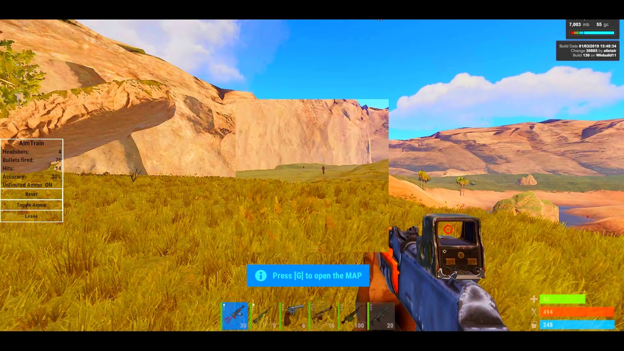 Undetected RUST Crosshair Overlay, Zoom & Visibility Enhancer [  https://ultimate-vision net 2019 ]