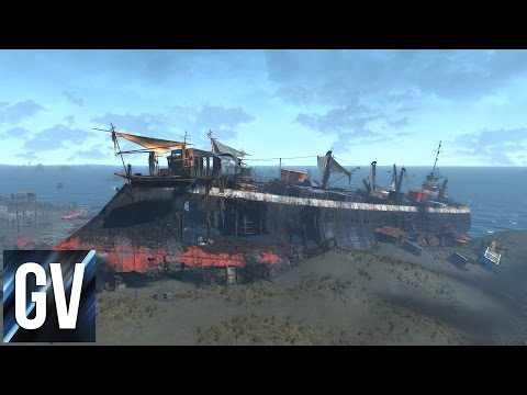 Fallout 4's Hidden Treasures - Wreck of the FMS Northern Star