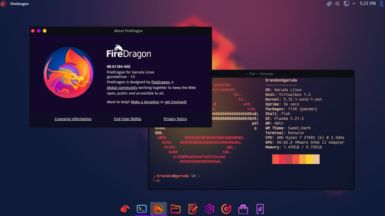 """Garuda Linux """"Spotted Eagle"""" - Major Updates!"""