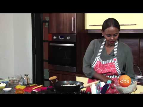 Giordana's kitchen show Different ways of cooking fried  Rice