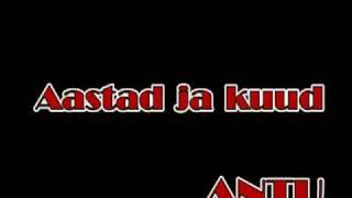 Antu-Aastad ja kuud