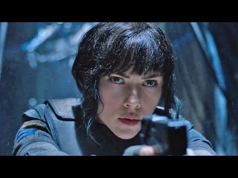 Ghost in the Shell 1-5 | official teaser trailer (2017) Scarlett Johansson