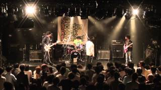 2015/8/17,18に梅田CLUB QUATTROで行われたNO BORDER ROCK FESTIVAL、魚...