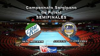 Real Moitense x Itaporanga - Semi-Final (volta)
