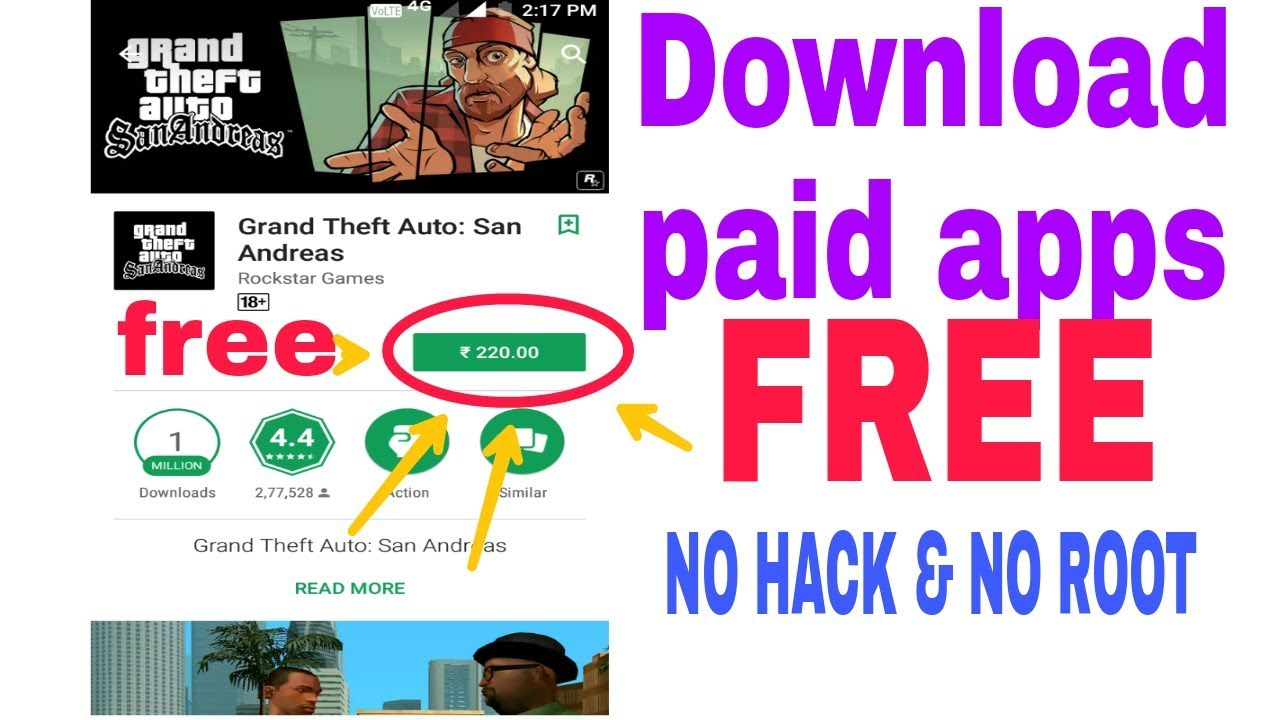 Download Paid Apps Games For Free On Android No Root