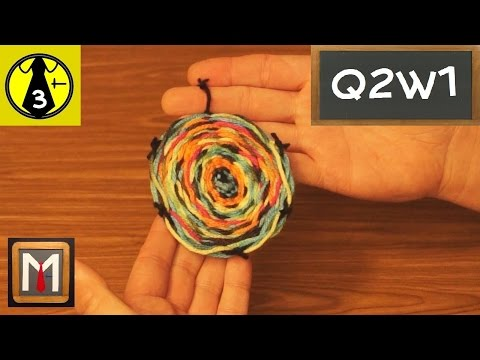 How to Make a Circle Weaving - part 2