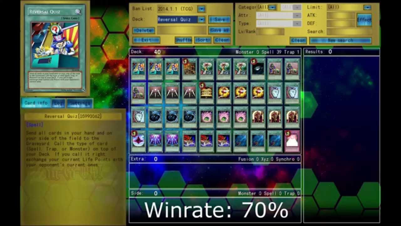 Yu-Gi-Oh | Reversal Quiz OTK | Reversal Quiz Deck - YouTube