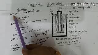Dry cell (Primary cell) in hindi शुष्क सेल (प्राथमिक सेल)