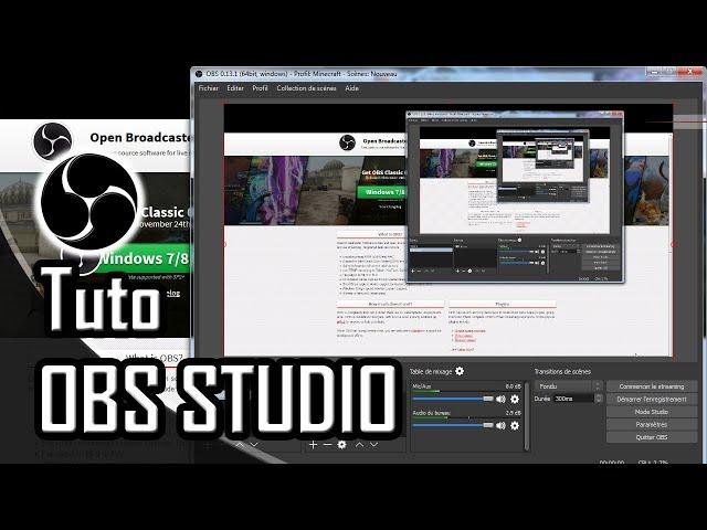 Les premiers pas sur OBS Studio.