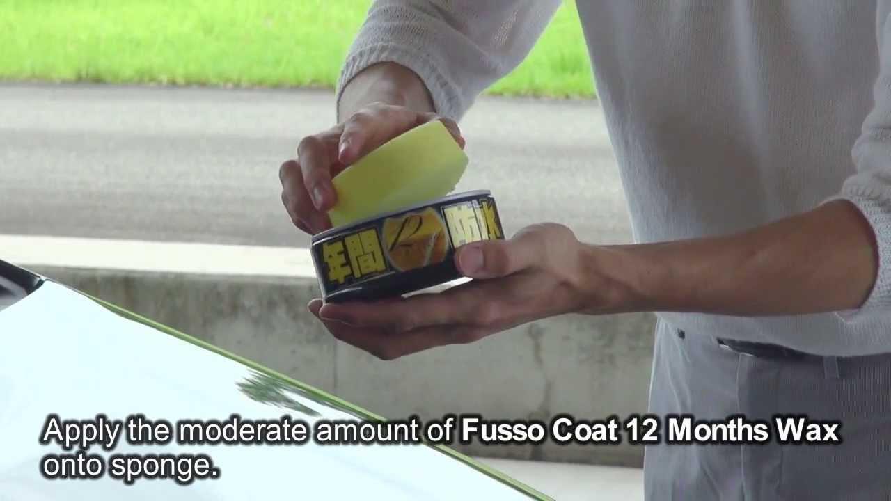 soft99 fusso coat 12 months wax soft99 tv youtube. Black Bedroom Furniture Sets. Home Design Ideas