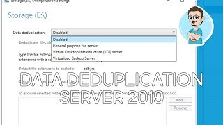 Install and Configure Data Deduplication on Windows Server 2019!