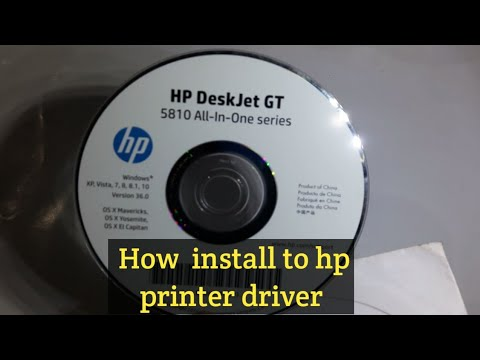 How To Install Ho Printer Driver On Windows Pc