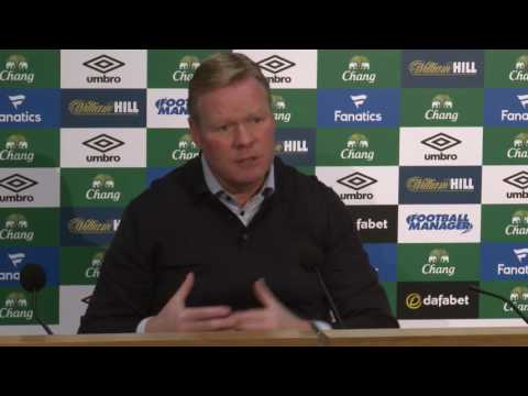 Ronald Koeman Pre-Swansea Press Conference