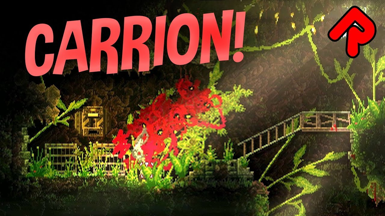 Be The Monster In The Goriest Metroidvania Ever Carrion Gameplay Alpha Demo Playthrough Youtube