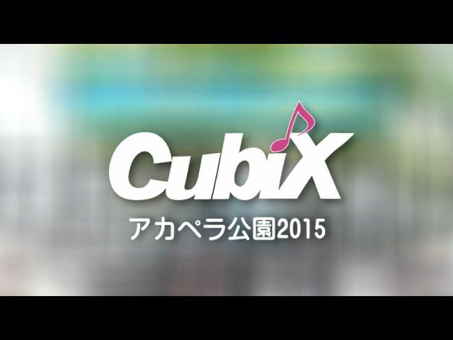 アカペラ公園2015 - CubiX
