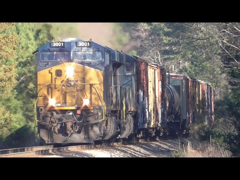 [27] Insanity on the CSX Abbeville Sub, Railfanning Athens -