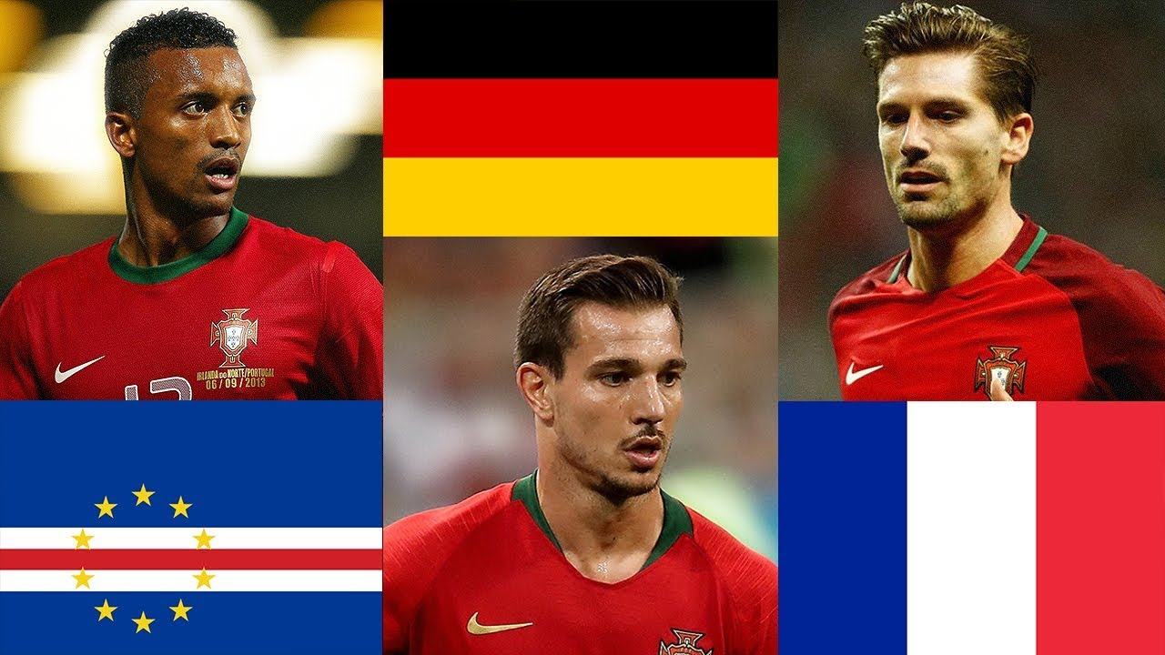 Did You Know The Original Countries Of Portugal National Football Team Players? - YouTube