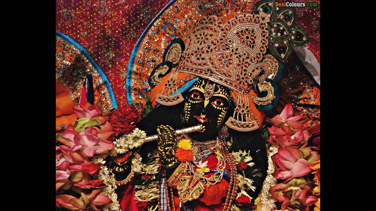 wallpaper of radha krishna temple