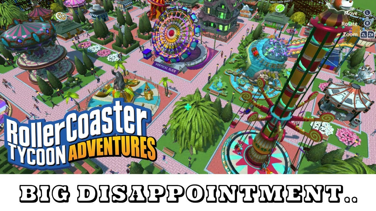 Big Disappointment   ROLLERCOASTER TYCOON ADVENTURES Gameplay | PC SWITCH  HD |