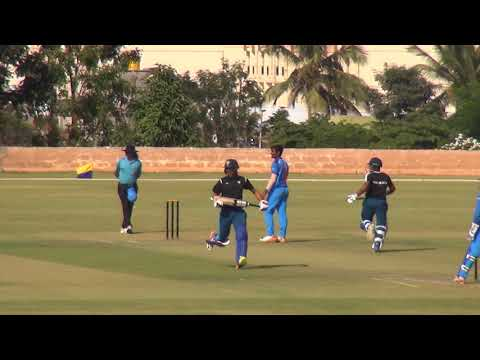 Sarfaraz khan score 70 in 67 balls in second match against India under 19