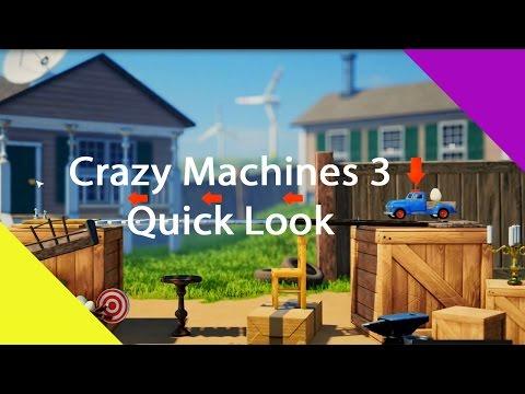 Crazy Machines 3 : Quick Look |