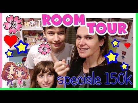 SPECIALE 150K: ROOM TOUR camera di Lara e Lele!! By Lara e Babou e Lele