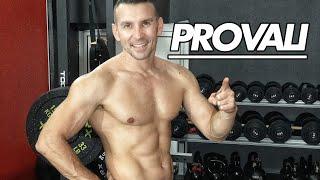 erezione dei muscoli addominali