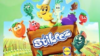 Stikeez | Owoce i Warzywa & Smerfy | Lidl | Bajki dla dzieci