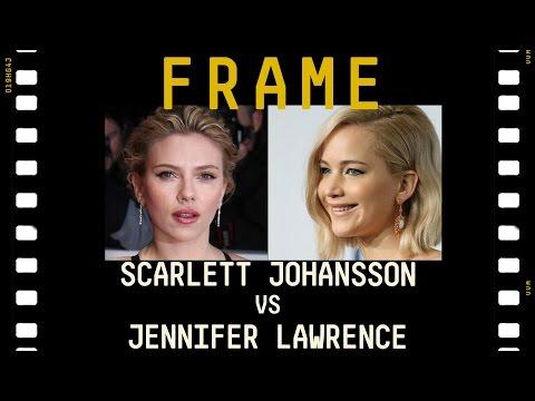 Scarlett Johansson VS Jennifer Lawrence  - Sfida fra bionde | #FRAME