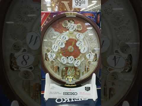 Melodies In Motion Musical Wall Clock by SEIKO @ Pinehog