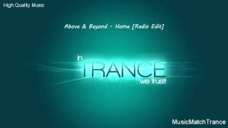 Above & Beyond - Home (Radio Edit)