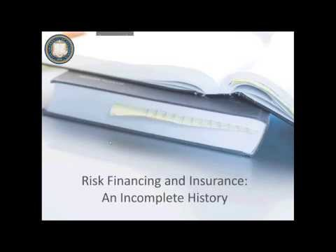 UC ERM Toolbox March 2014 - An Incomplete History of Risk Financing