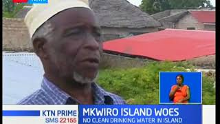 Water woes in Mkwiro Island in Kwale County