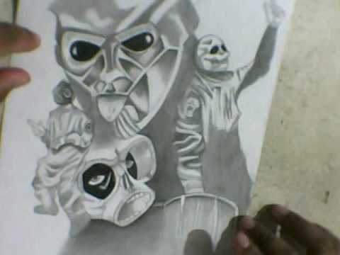 Slipknot Dibujos Youtube