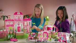 Mega Bloks Barbie- Build 'n Style Luxury Mansion