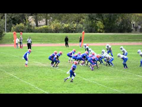 Jaden Richards #1 - Donald A. Wilson S.S. @ Ajax H.S. - October 15, 2015 - Highlights