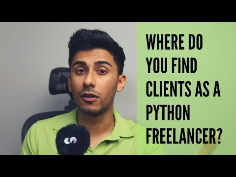 Where to Find Clients as Python Freelancer?